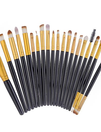 preiswerte Make-up Pinsel-Professional Makeup Bürsten 20 Umweltfreundlich Professionell vollständige Bedeckung bezaubernd Bequem Plastik zum Make-up-Set Make-up Utensilien Make-up Pinsel Eyeliner Pinsel Grundlagen Pinsel
