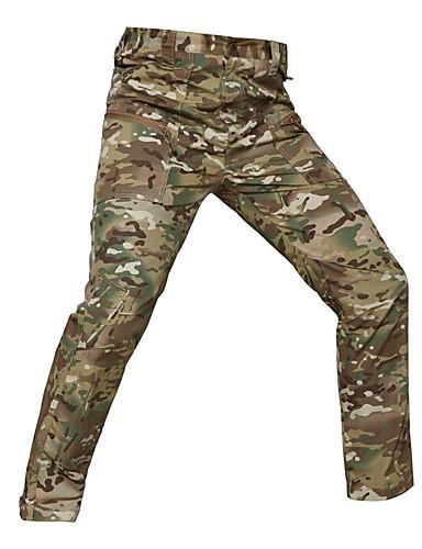 preiswerte Jagdhosen & kurze Hosen-Unisex Jagd-Chaps Windundurchlässig warm halten tragbar Weich Frühling Sommer Herbst camuflaje Baumwolle für Camouflage Grau Camouflage S M L XL XXL / Winter