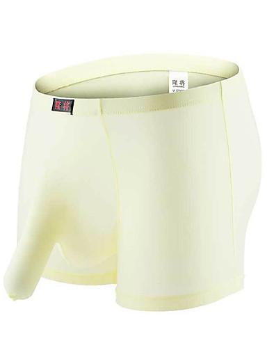 levne Pánské prádlo a plavky-Pánské Základní Boxerky Nylon Středně vysoký pas