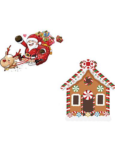 preiswerte Wand-Sticker-Bad Sticker - Tier Wandaufkleber / Ferien-Wand-Aufkleber Tiere / Weihnachten Wohnzimmer / Schlafzimmer / Küche