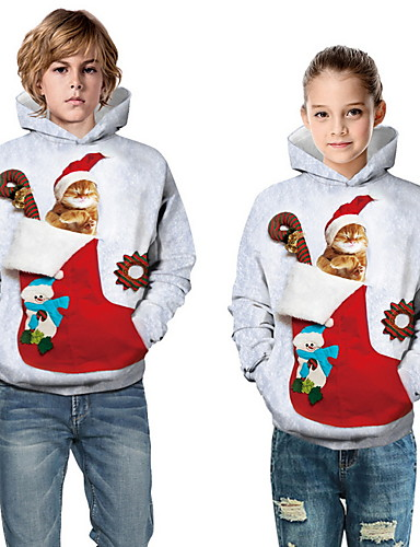preiswerte PAJAMAJUMPSUITS-Mama und ich Tier Weihnachten Bluse Weiß