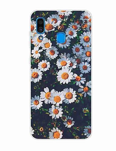 Case Kompatibilitás Samsung Galaxy S9 / S9 Plus / S8 Plus Minta Fekete tok Virág TPU