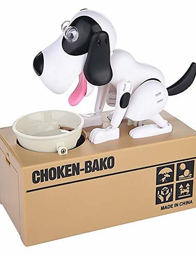 preiswerte Spielzeug & Hobby Artikel-Hunde-Spardose Münz Bank Spardose Neuartige Hunde ABS 1 pcs Kinder Erwachsene Jungen Mädchen Spielzeuge Geschenk / Kauendes Spielzeug
