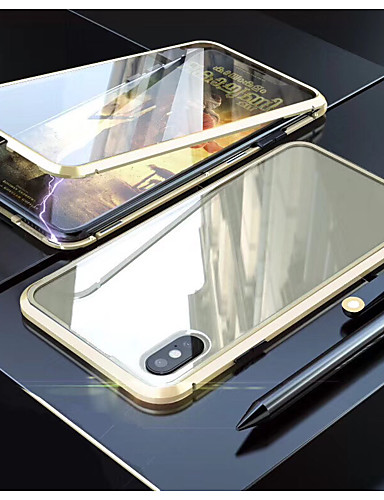 Case For Apple iPhone 11 / iPhone 11 Pro / iPhone 11 Pro Max Translucent Full Body Cases Transparent Tempered Glass / Metal