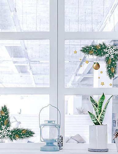 preiswerte Wand-Sticker-Bad Sticker - Ferien-Wand-Aufkleber Weihnachten / Feiertage Wohnzimmer / Schlafzimmer / Küche