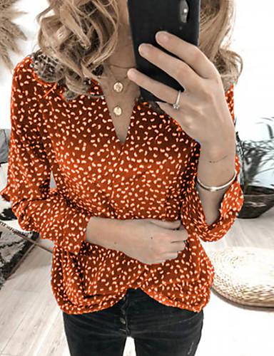 T-skjorte Dame - Geometrisk Svart