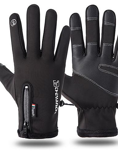 cheap Men's Gloves-Men's Basic Fingertips Gloves - Print
