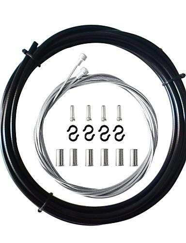 preiswerte Bremsen-Cable de Freno Straßenradfahren Regolabile / Einziehbar / Langlebig Fasergemisch Schwarz / Weiß / Fuchsia