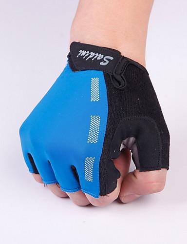 cheap Men's Gloves-Men's Basic Half Finger Gloves - Solid Colored