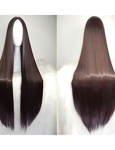 One Piece Boa Hancock Black Hair wigs party cosplay wig 100cm