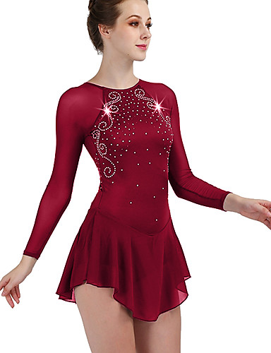 Competition Skating Wear Quick Dry Anatomic Design Handmade Classic back open