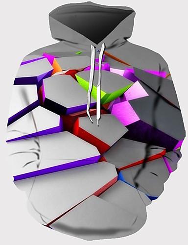 baratos Pré-Liquidação-Homens Básico Moletom 3D
