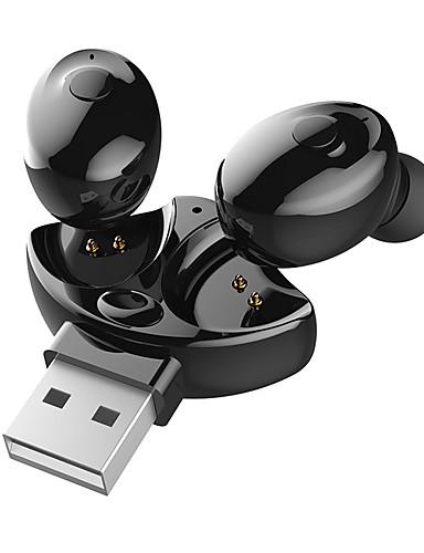 preiswerte Telefon- und Business-Headsets-LITBest XG 17 Telefon-Kopfhörer Kabellos EARBUD Bluetooth 5.0 Stereo Dual Drivers Wasserdichtes IPX4