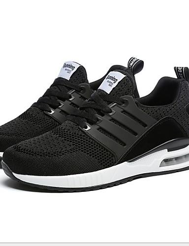 preiswerte Athletische Schuhe für Herren-Unisex Komfort Schuhe PU Winter Sneakers Schwarz / Weiß / Grün