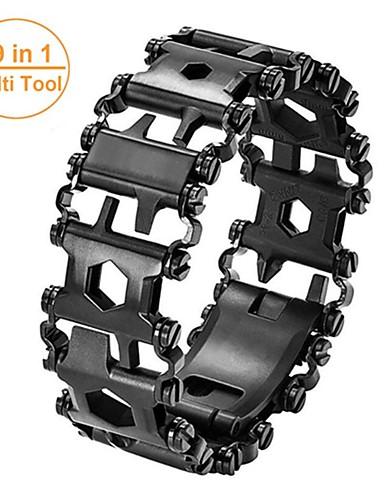 preiswerte Elektrische Ausrüstung-mann im freien verstärktes armband leatherman multi tool armband edelstahl 29 in 1 multifunktionswerkzeug armband überlebensarmband