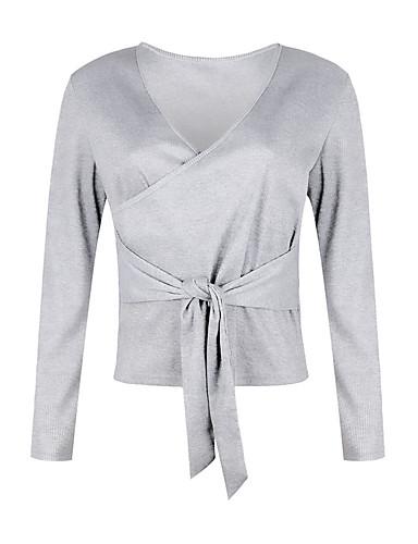 T-skjorte Dame - Ensfarget, Drapering / Lapper Gatemote Rosa