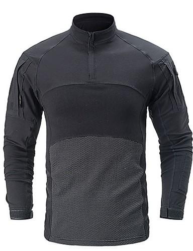 preiswerte Herren T-Shirts & Tank Tops-Herrn camuflaje T-shirt Schwarz