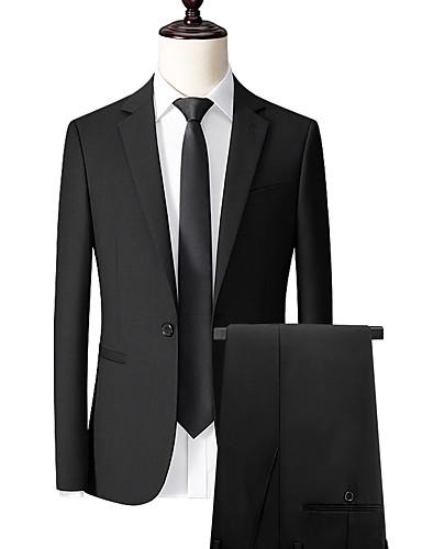 cheap Men's Custom Suits-Black custom suit