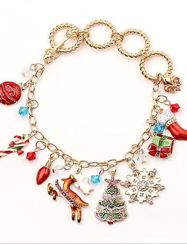 preiswerte Men's Trendy Jewelry-Herrn Damen Zierlich Charme nette Art,Aleación Solide / Armband