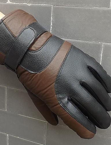 preiswerte Herrenmode Accessoires-Herrn Grundlegend Fingerspitzen Handschuhe Einfarbig