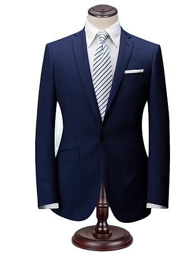 cheap Men's Custom Suits-The norwich dark blue wool custom suit