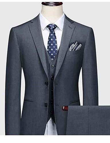 preiswerte Maßanzüge-cooler grauer kundenspezifischer Anzug
