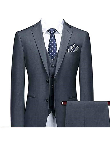 cheap Men's Custom Suits-Cool gray custom suit