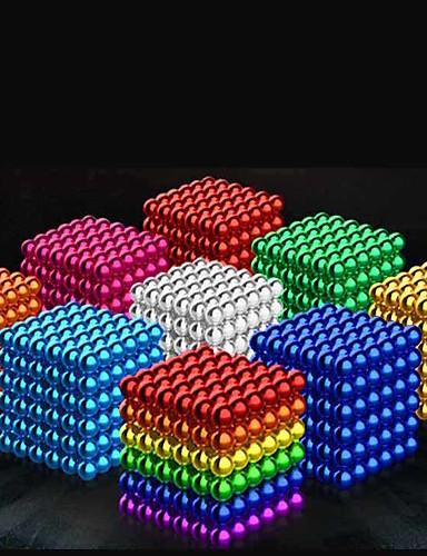 preiswerte Spielzeug & Hobby Artikel-216 pcs 5mm Magnetspielsachen Magnetische Bälle Bausteine Superstarke Magnete aus seltenem Erdmetall Neodym - Magnet Magnet Neodym - Magnet Schick & Modern Stress und Angst Relief Büro Schreibtisch