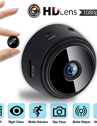 preiswerte Schutz & Sicherheit-mini drahtlose kamera 32g tf karte hd app 25fps p2p ip wifi kamera 1080p nachtsicht bewegungserkennung 2 mp sicherheit ip kamera innen unterstützung 64 gb / cmos / 50/60 / iphone os / android