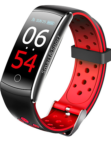 billige Trendy klokker-imosi q8s smart band pulsmåler vanntett smart armbånd fitness tracker blodtrykk smart klokke android ios