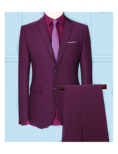 cheap Men's Custom Suits-Burgundy custom suit