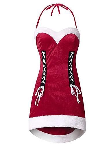 levne Šaty velkých velikostí-Dámské Šik ven Elegantní Bodycon Šaty - Barevné bloky, Mašle Patchwork Nad kolena