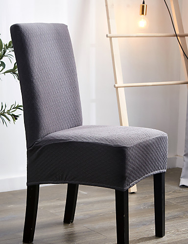 cheap Chair Cover-Waterproof Chair Cover Solid Colored Printed Polyester Slipcovers Simple Comfortable Soft Chair Cover