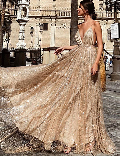 cheap Historical & Vintage Costumes-Diva Retro Vintage Disco 1980s Dress Women's Costume Silver / Apricot Vintage Cosplay Party Sleeveless