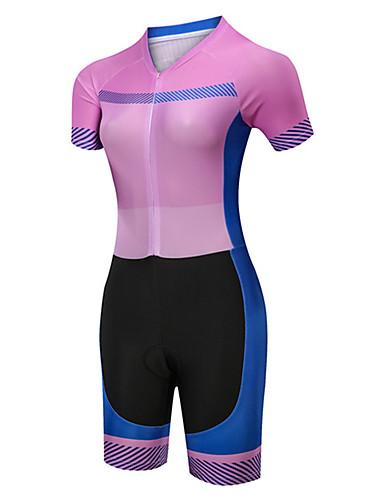 Motivo Maculato BXIO Abbigliamento Ciclismo Donna Maglie Ciclismo Maniche Corte con Pantaloncini Ciclismo da Ciclismo Asciugatura Rapida per MTB Ciclista