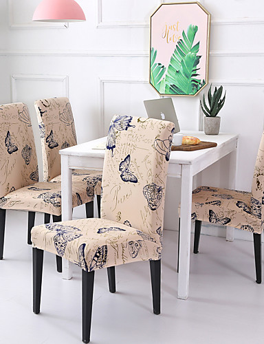 cheap Chair Cover-Chair Cover Scenery / Contemporary Printed Polyester Slipcovers