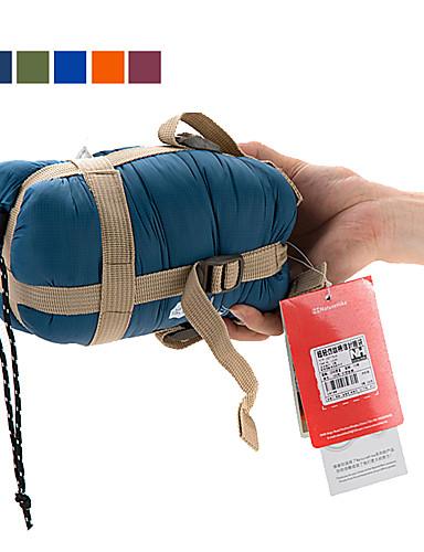 cheap See, No Longer Limited To Distance!-Naturehike Mini-Ultralight Sleeping Bag Outdoor Camping Envelope / Rectangular Bag 15 °C Single Imitation Silk Cotton Portable Mini Warm Ultra Light (UL) 190*75 cm Spring Summer for Hiking Camping