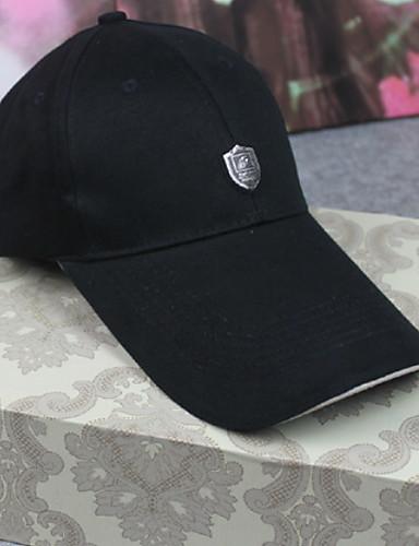 cheap Men's Hats-Men's Basic Cotton Floppy Hat-Florals All Seasons Black Navy Blue Beige