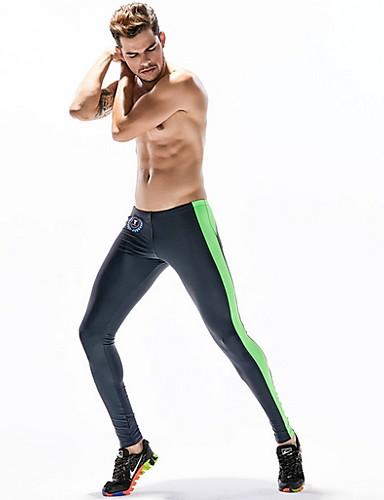 abordables Vêtements de sport-Homme Normal Coton Sexy Caleçon Bloc de Couleur Taille médiale