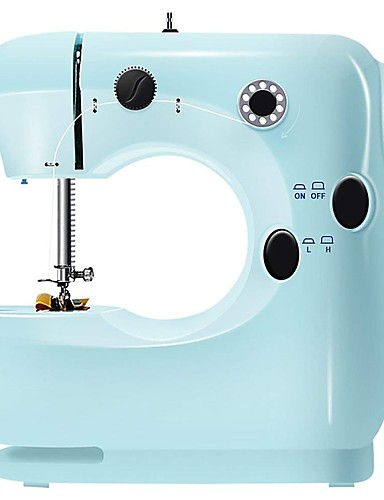 cheap Stay safe! Stay home!-Electric Multi-functional Sewing Machine 2 Speed Adjustment Foot Pedal Sewing Machine For Beginner