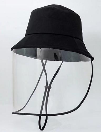 رخيصةأون ملابس واقية-الخريف أسود رمادي غامق قبعة شمسية لون سادة رجالي بوليستر,أساسي