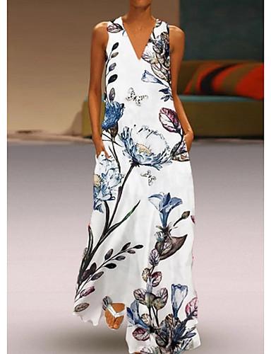 Black White Grid Geometric Print Chiffon Business Career Work Shirt 146 mv Dress