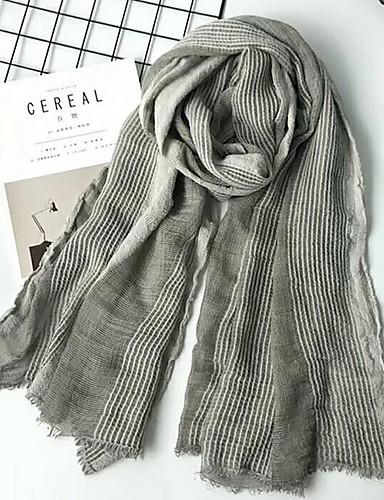 cheap Men's Scarves-Men's Basic Rectangle Scarf - Striped