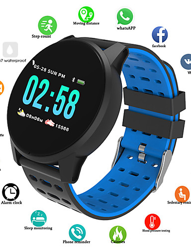 cheap Digital Watches-Men's Sport Watch Digital Silicone Red / Green / Grey 30 m Water Resistant / Waterproof Bluetooth Smart Digital Casual Fashion - Black / Blue Black / Gray Black / Green / Chronograph / Tachymeter