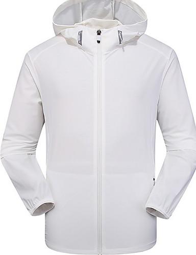 hesapli En Çok Satanlar-Erkek Kapşonlu Ceketler Normal Solid Günlük Uzun Kollu Beyaz Siyah Açık Gri US32 / UK32 / EU40 US34 / UK34 / EU42 US36 / UK36 / EU44