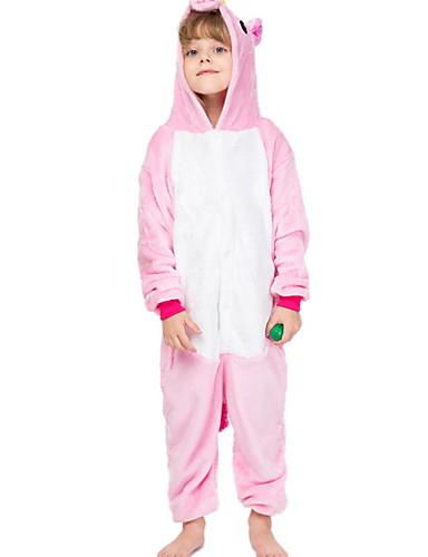 billige Babyudstyr-Børn Pige Farveblok Undertøj og strømper Lyserød