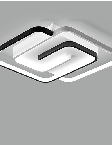 billige Taklamper-55 cm led taklampe enkelt moderne varmt soverom lys nordisk moterom lys 55 cm kreativt spisestue lys