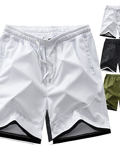 """cheap Hiking Trousers & Shorts-Men's Hiking Shorts Summer Outdoor 7"""" Relaxed Fit Breathable Quick Dry Sweat-wicking Wear Resistance Nylon Shorts Bottoms Camping / Hiking Fishing Climbing White Black Army Green M L XL XXL XXXL"""