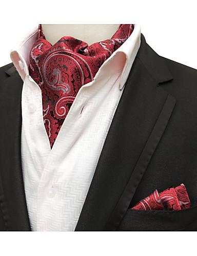 זול עניבות ועניבות פרפר לגברים-עניבה ואסקוט - דפוס / סרוג מסיבה / עבודה / בסיסי בגדי ריקוד גברים