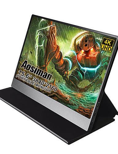 cheap Monitor-AOSIMAN ASM-125UC 12.5 inch IPS 4K Portable Screen Monitor Type C Powered